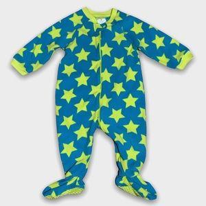 4/$20🥳 Yellow Star Fleece Sleeper
